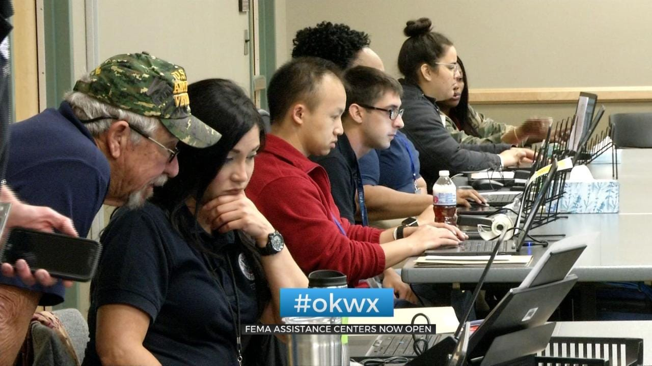 FEMA Opens Disaster Recovery Centers In Sand Springs, Fort Gibson