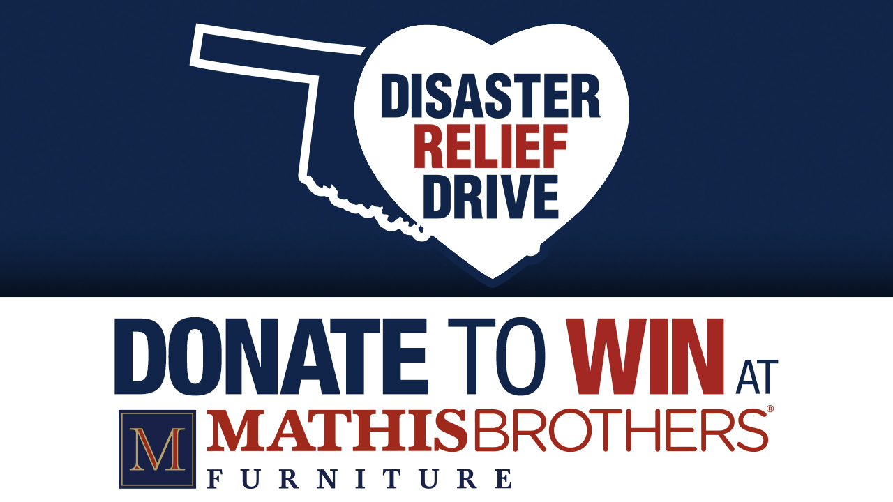 Mathis Brothers Furniture Holding Disaster Relief Drive