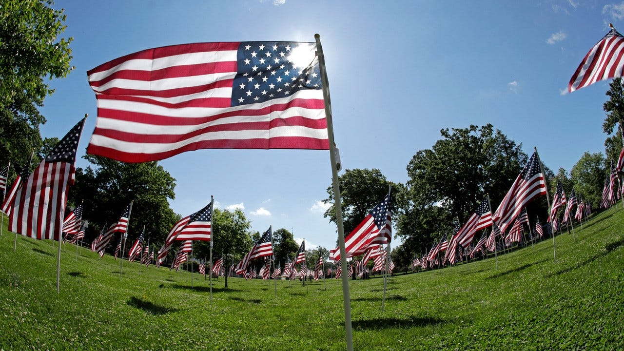 Military History Center Holds Flag Day Ceremony In Broken Arrow