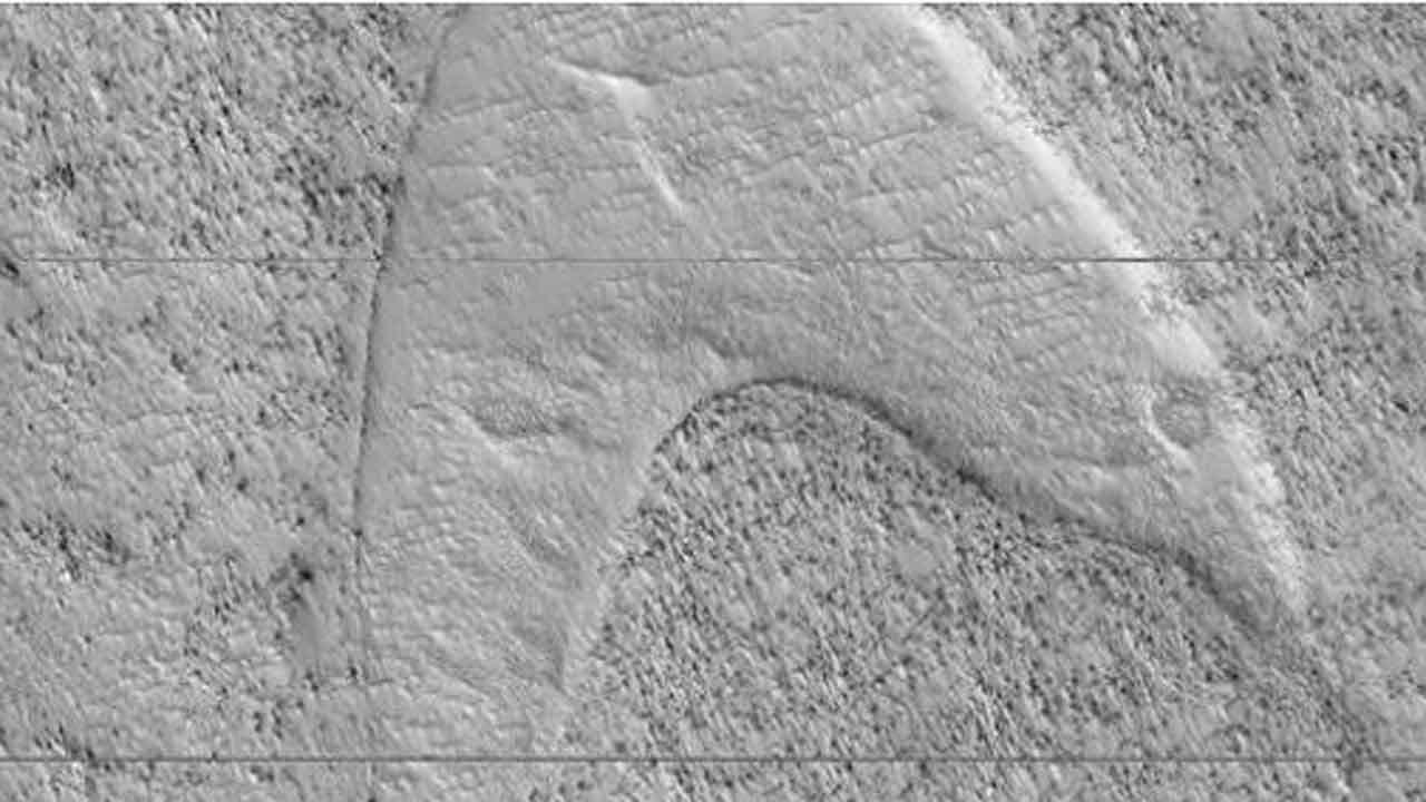 NASA Spots 'Star Trek' Starfleet Logo On Mars