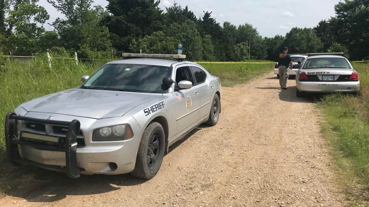 OSBI Investigates After Human Remains Found In Burned Mobile Home