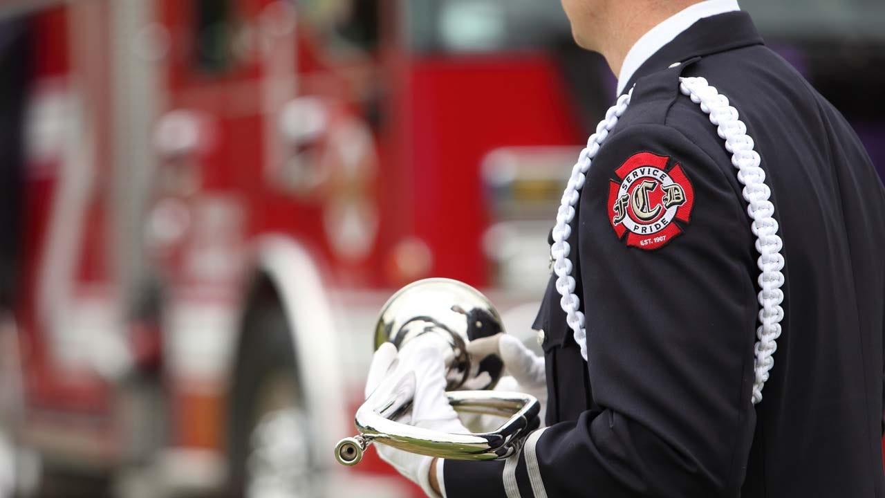 Claremore Firefighters Remember Fallen Battalion Chief