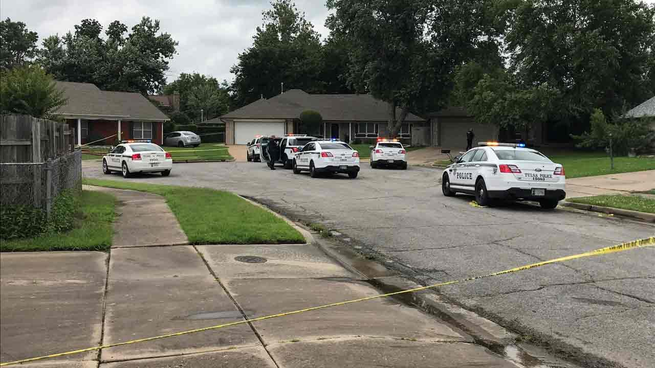 Police Chase Ends With Officer-Involved Shooting Inside Tulsa Neighborhood