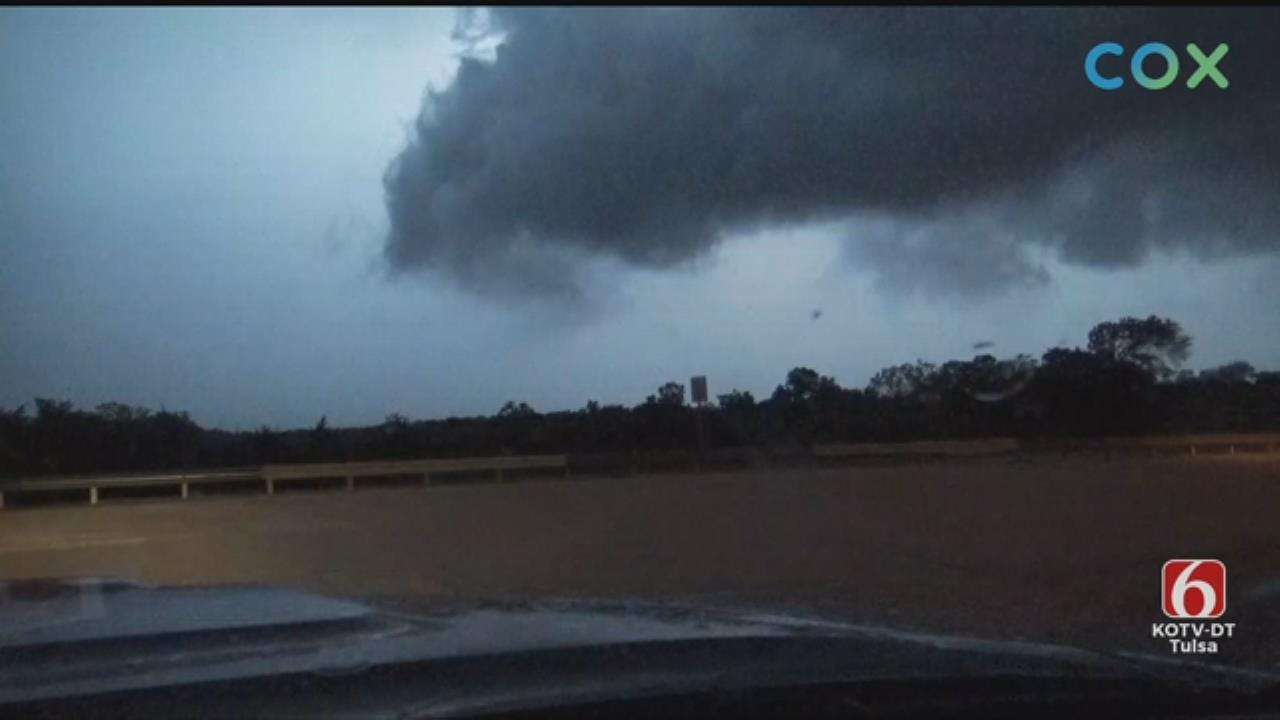 WATCH: News On 6 Storm Tracker JD McManus Tracks Storms In The Stroud Area