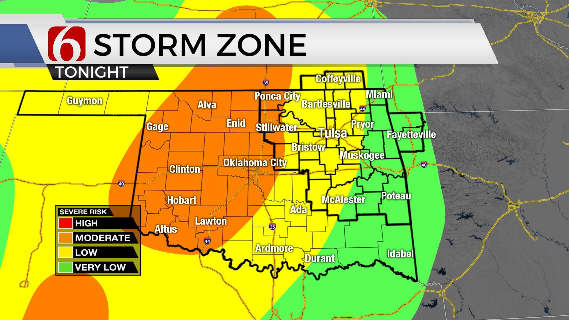 Severe Storms And Serious Heat Ahead For Oklahoma