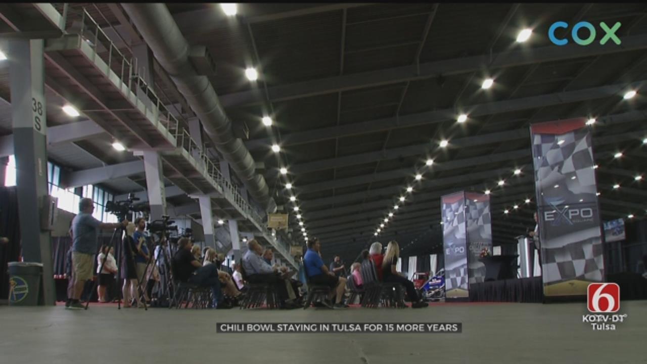 Chili Bowl Calls Tulsa Home Until 2034