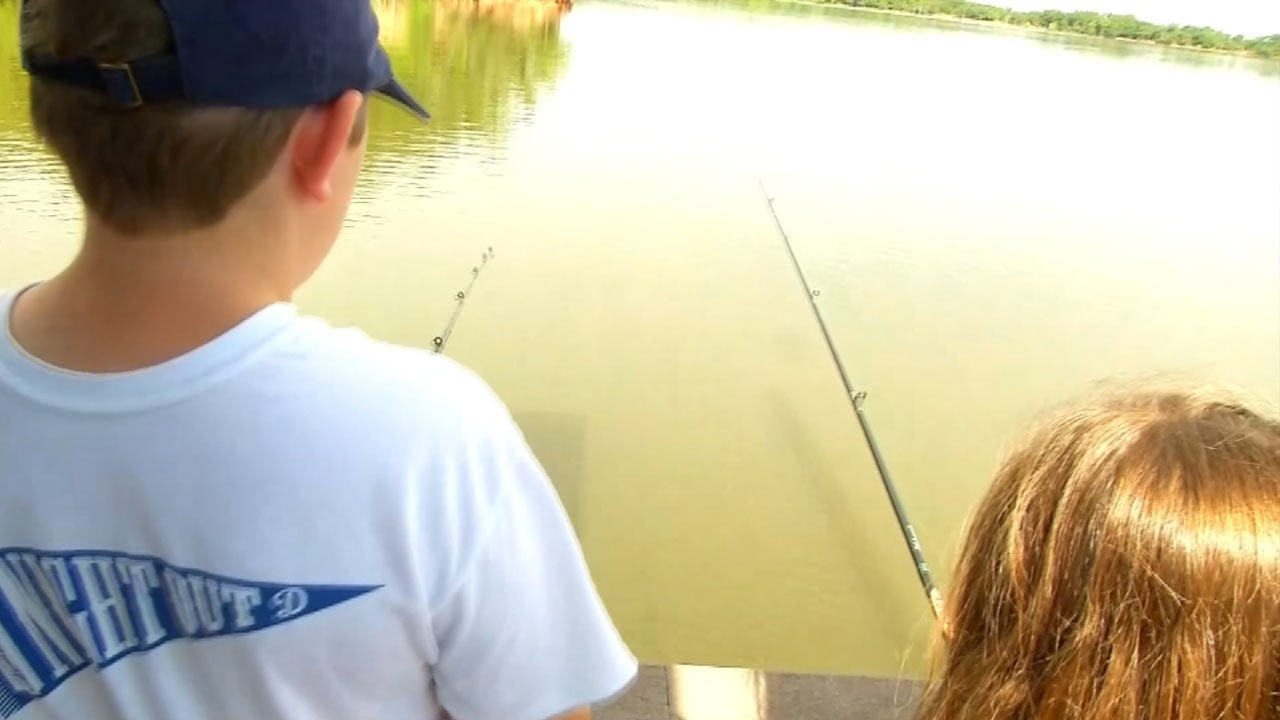 New Oklahoma Fishing Initiative Aims To Reel In More Tourists