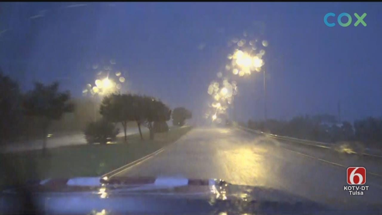 WATCH: News On 6 Storm Tracker JD McManus Tracking Storms In McAlester Area