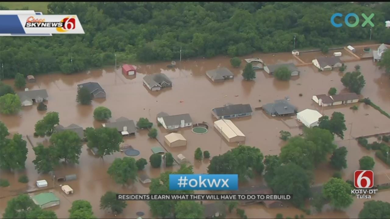 Sand Springs Flood Victims Find No Easy Answers At Public Meeting