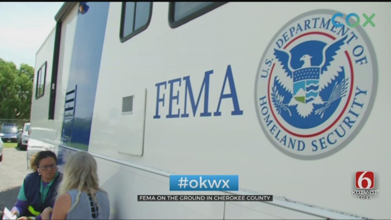 FEMA Offering Help To Cherokee County Storm Victims
