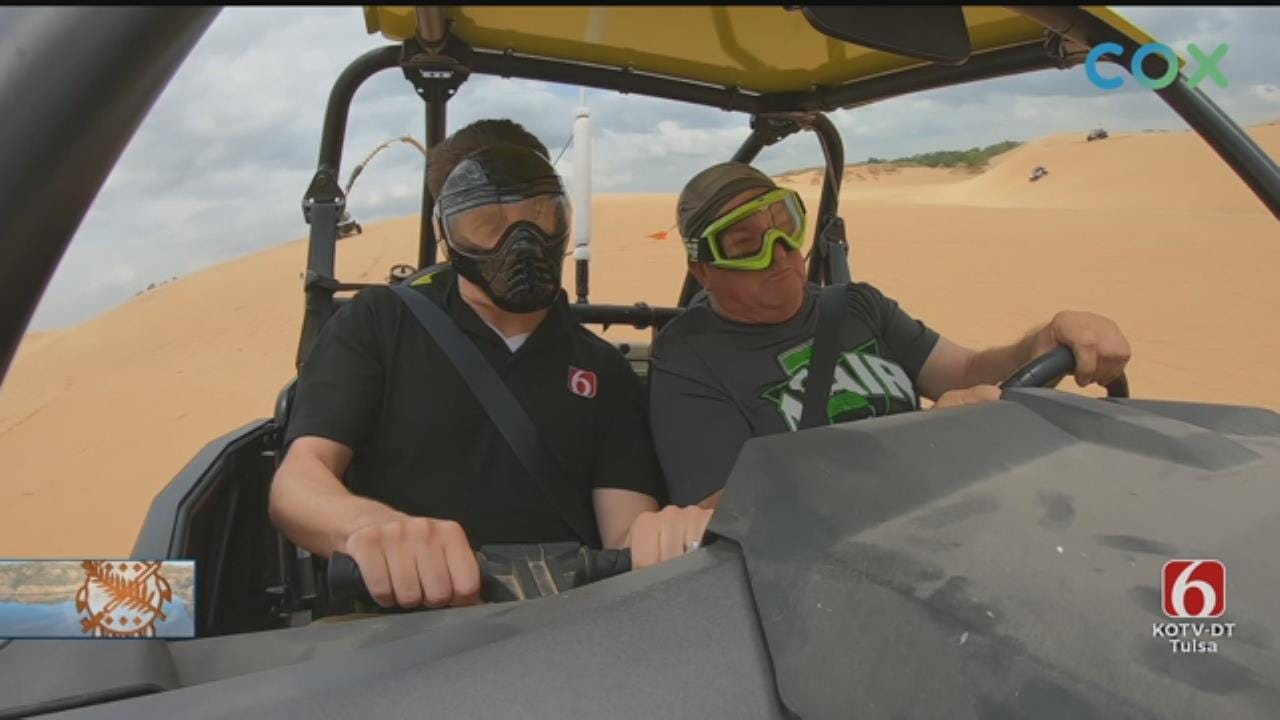 Oklahoma Sand Dunes Offer Thrill Ride For Visitors