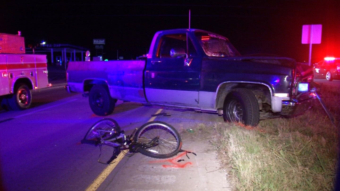 Cyclist Killed In Rogers County Crash