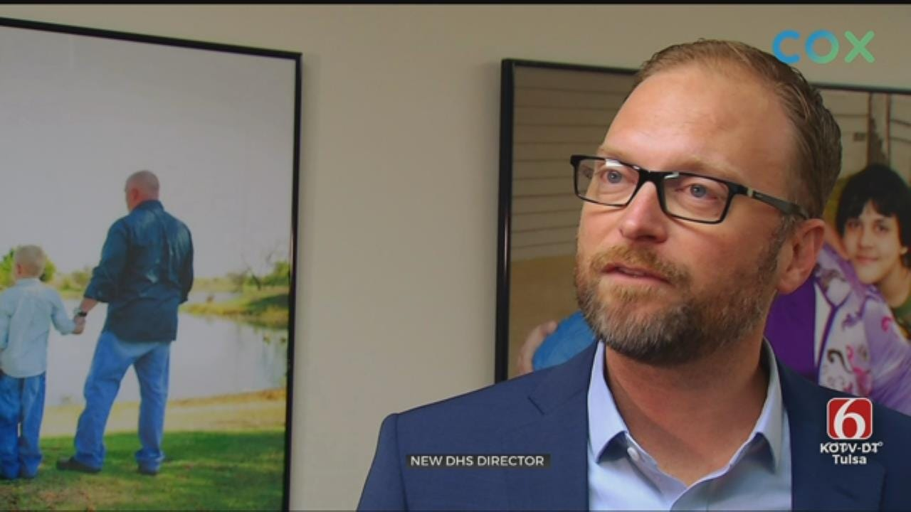 Oklahoma's New DHS Director Says He Fits The Position
