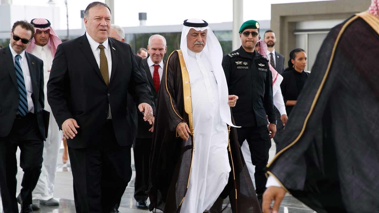 Pompeo In Saudi Arabia, Iran Threatens More US Drone Attacks