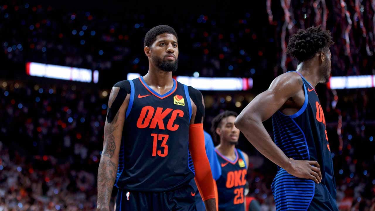 Thunder's Paul George Up For MVP, Defensive Player Awards