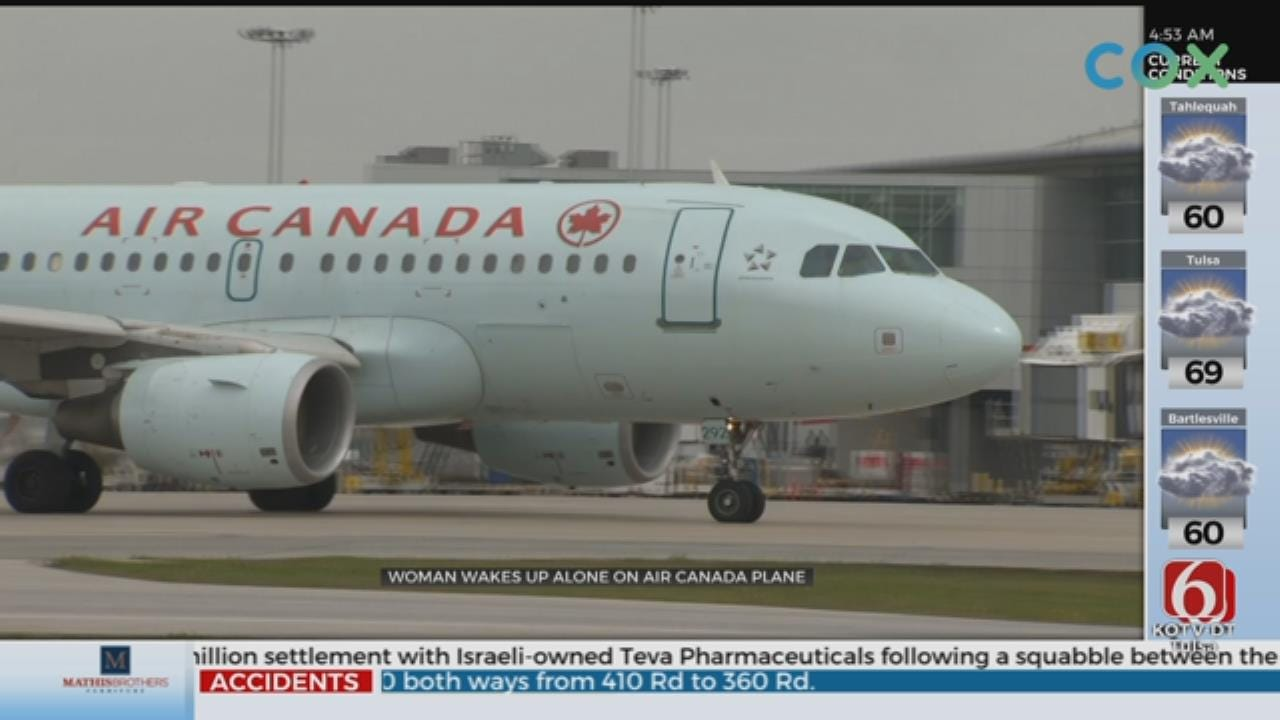 Air Canada Passenger Says She Was Left Alone On 'Freezing,' Dark Plane Hours After Flight