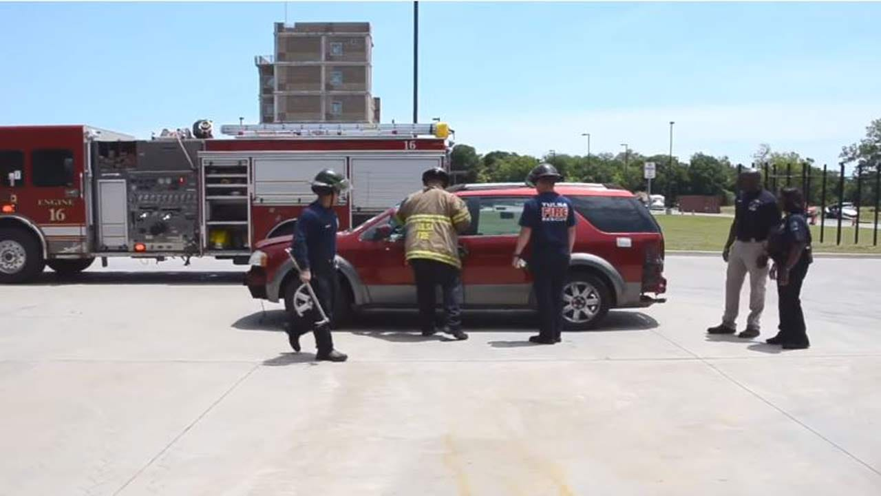 First Responders In Tulsa Host Heat Stroke Drill