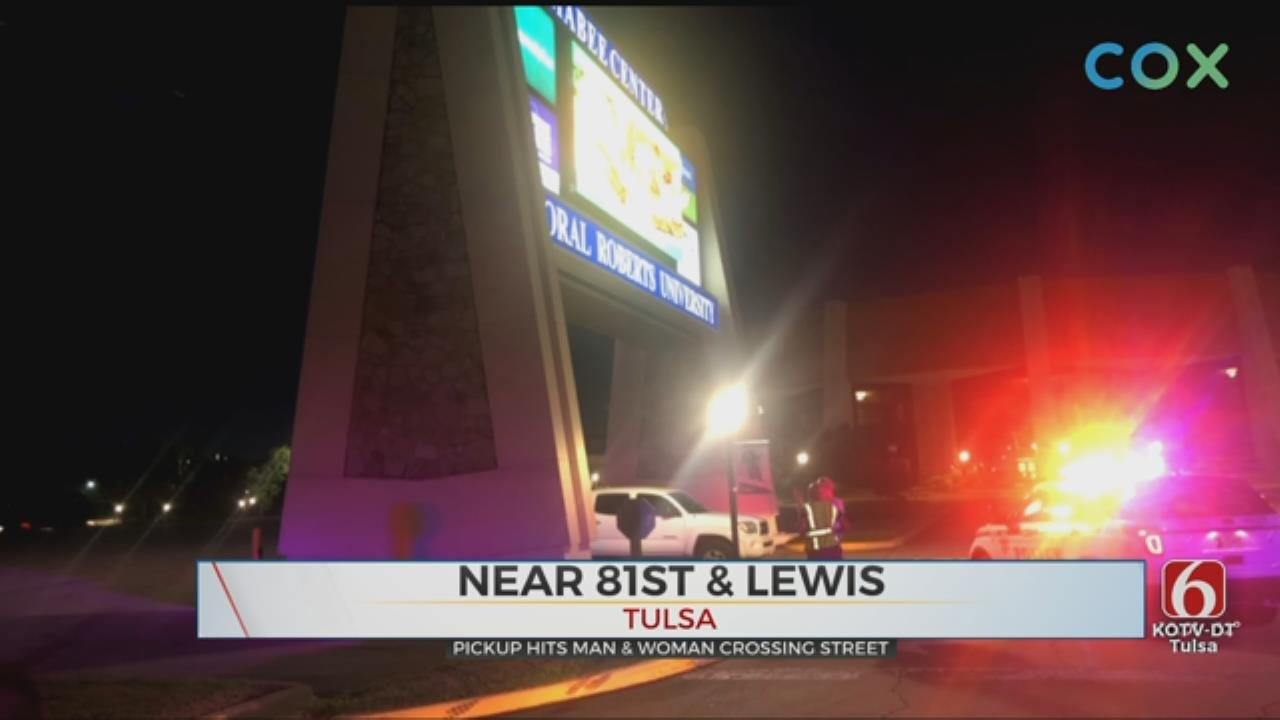 Couple Hit By Vehicle In South Tulsa