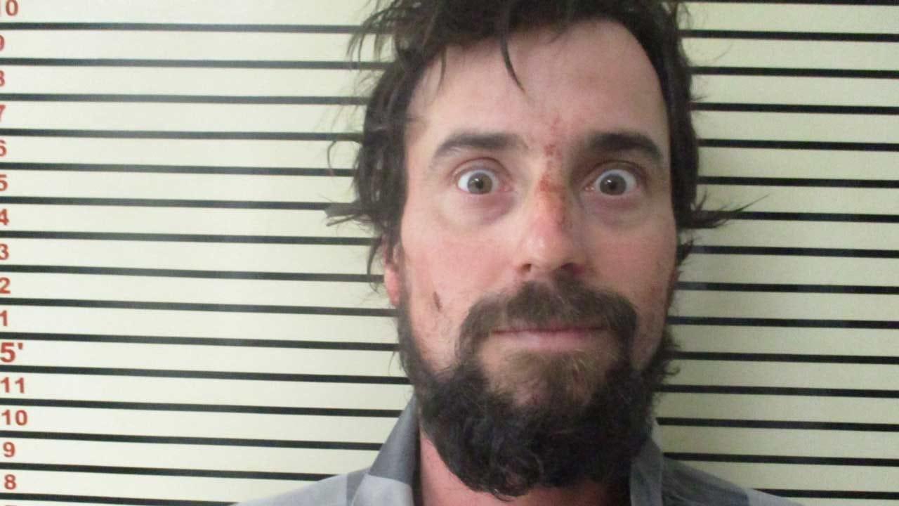 Wagoner County K-9 Finds Man Hiding Under Blankets