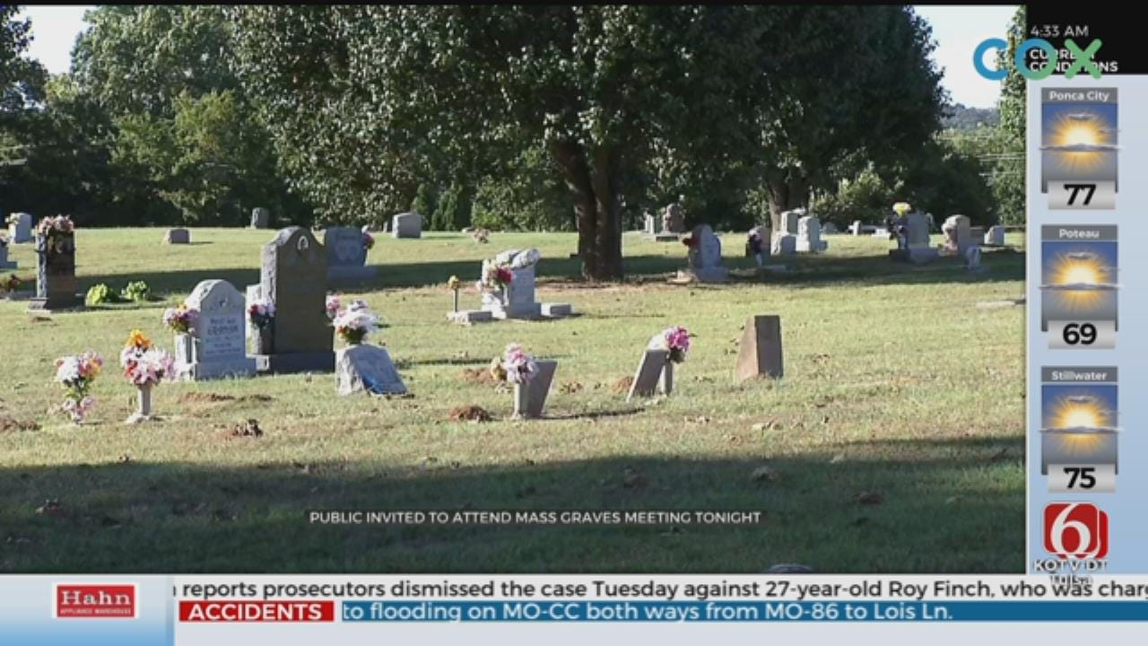 City Of Tulsa Holds Public Meeting On Possible Mass Graves From Tulsa Race Massacre