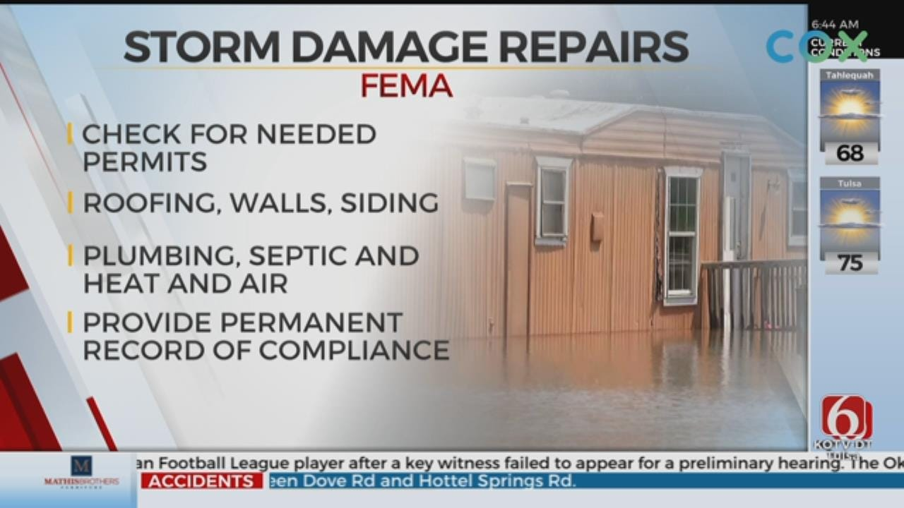 FEMA Reminds Property Owners About Needed Permits