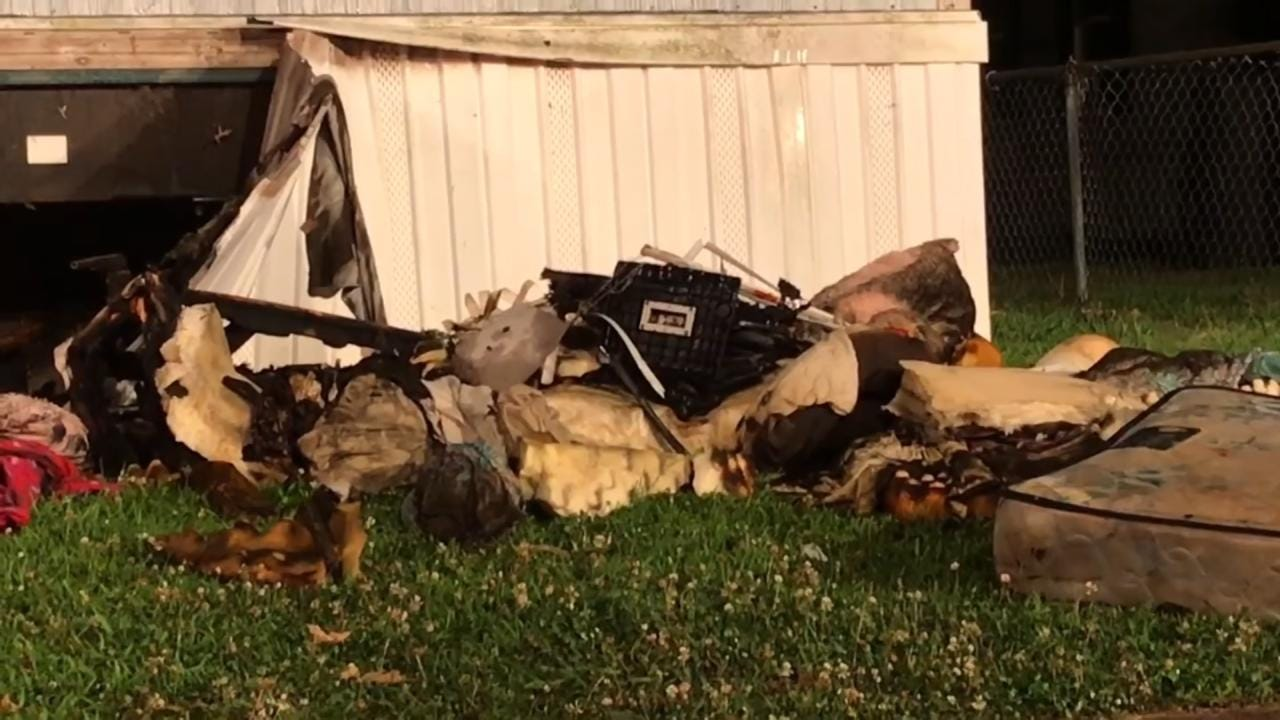 Service Dog Killed In Mannford Mobile Home Fire