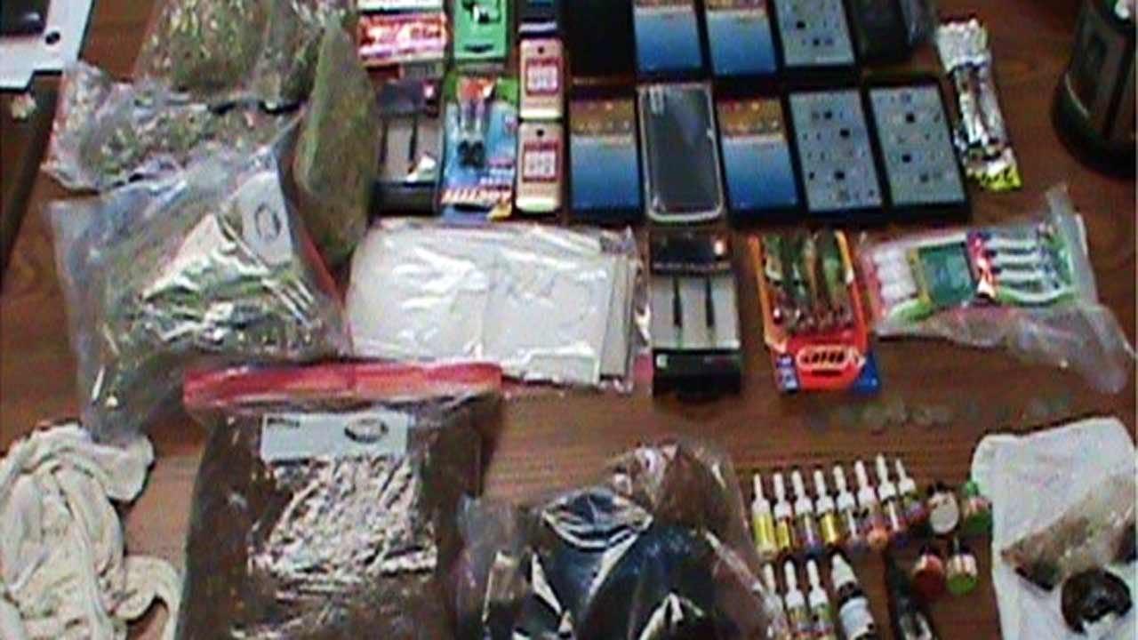Guard Intercepts Contraband Near McAlester Prison