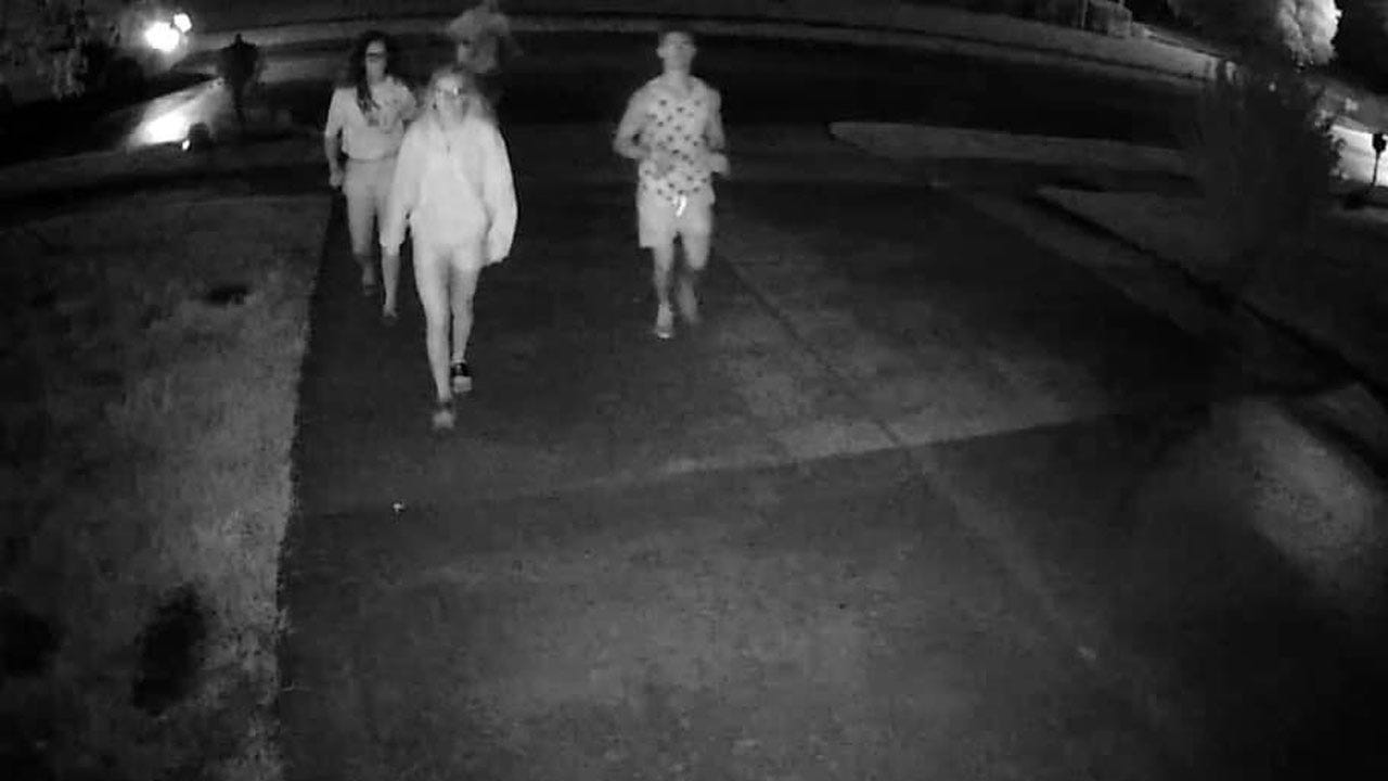 Owasso Police Searching For Group Of Vandals