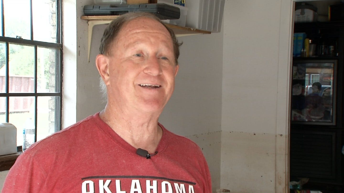 Tulsa County Man Cleaning Up After Series Of Bad Luck