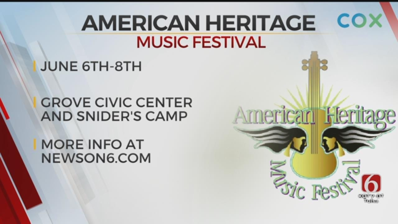American Heritage Music Festival Coming To Grove