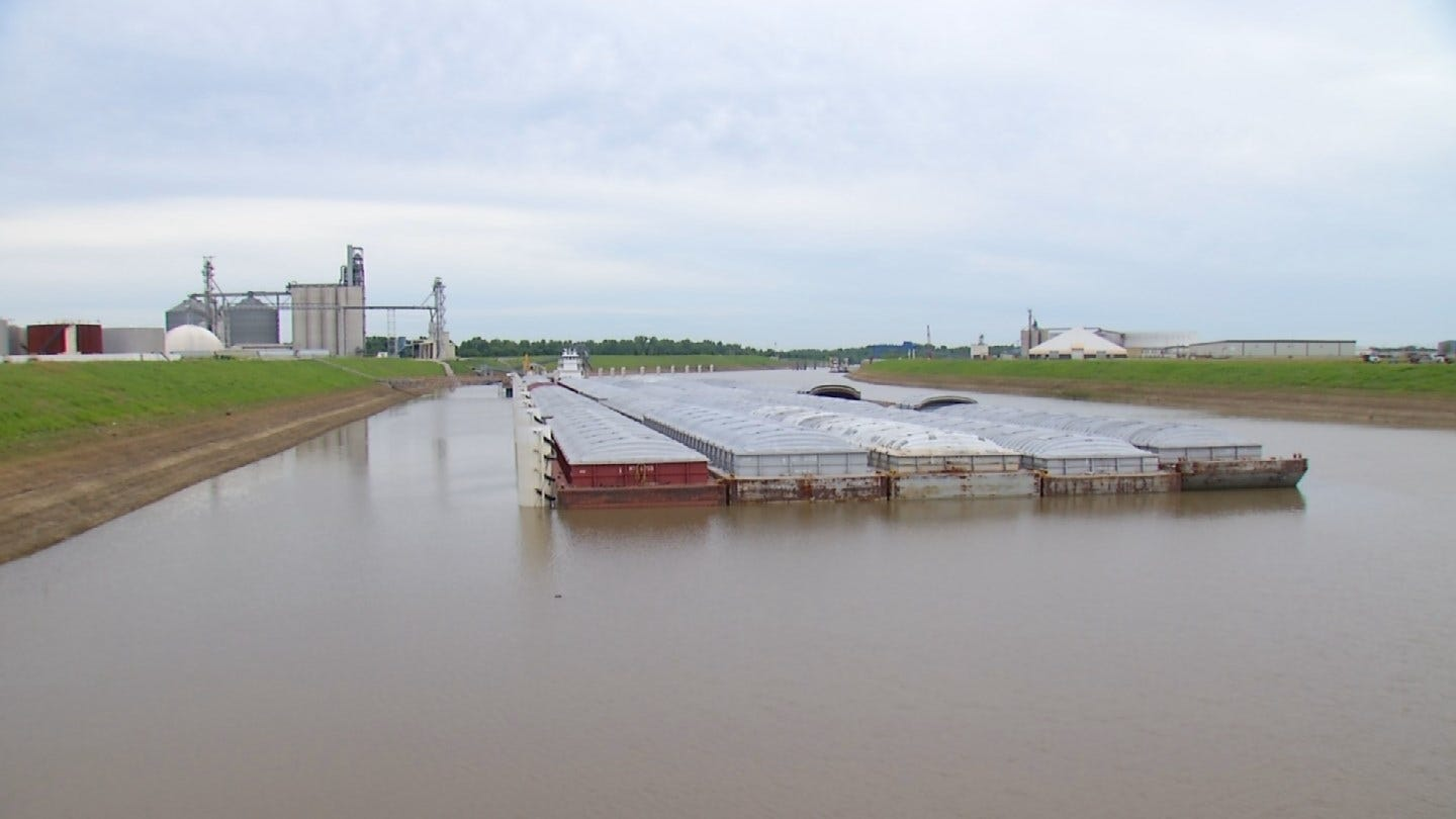 Flooding Impact On Port Of Catoosa Could Be Felt For Weeks