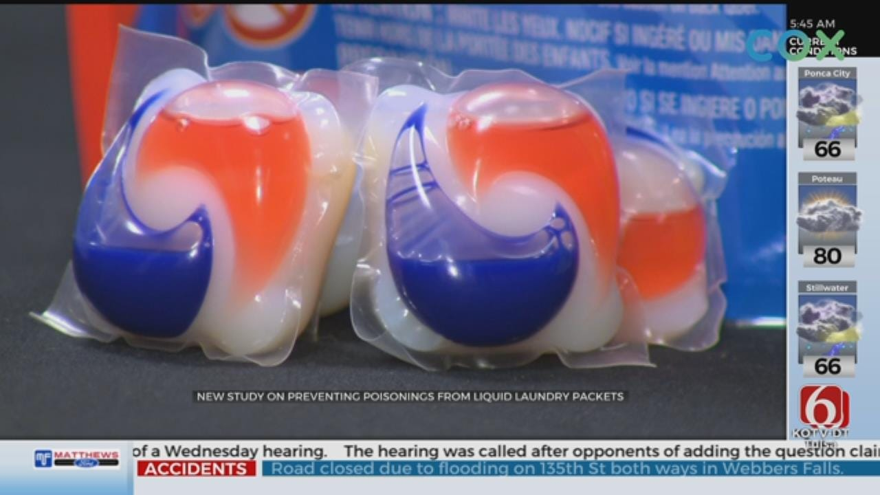 Laundry Pods Still A Serious Safety Risk