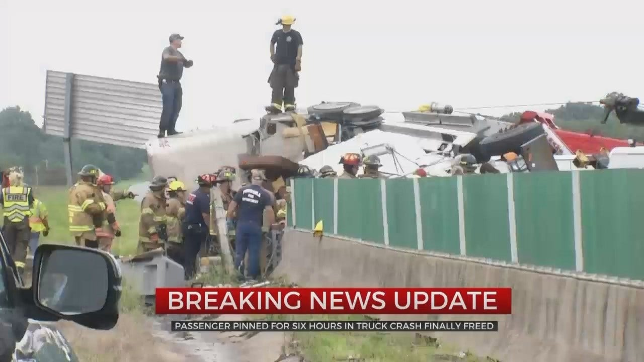 Man Freed After Being Pinned In Cattle Truck Crash For 6 Hours