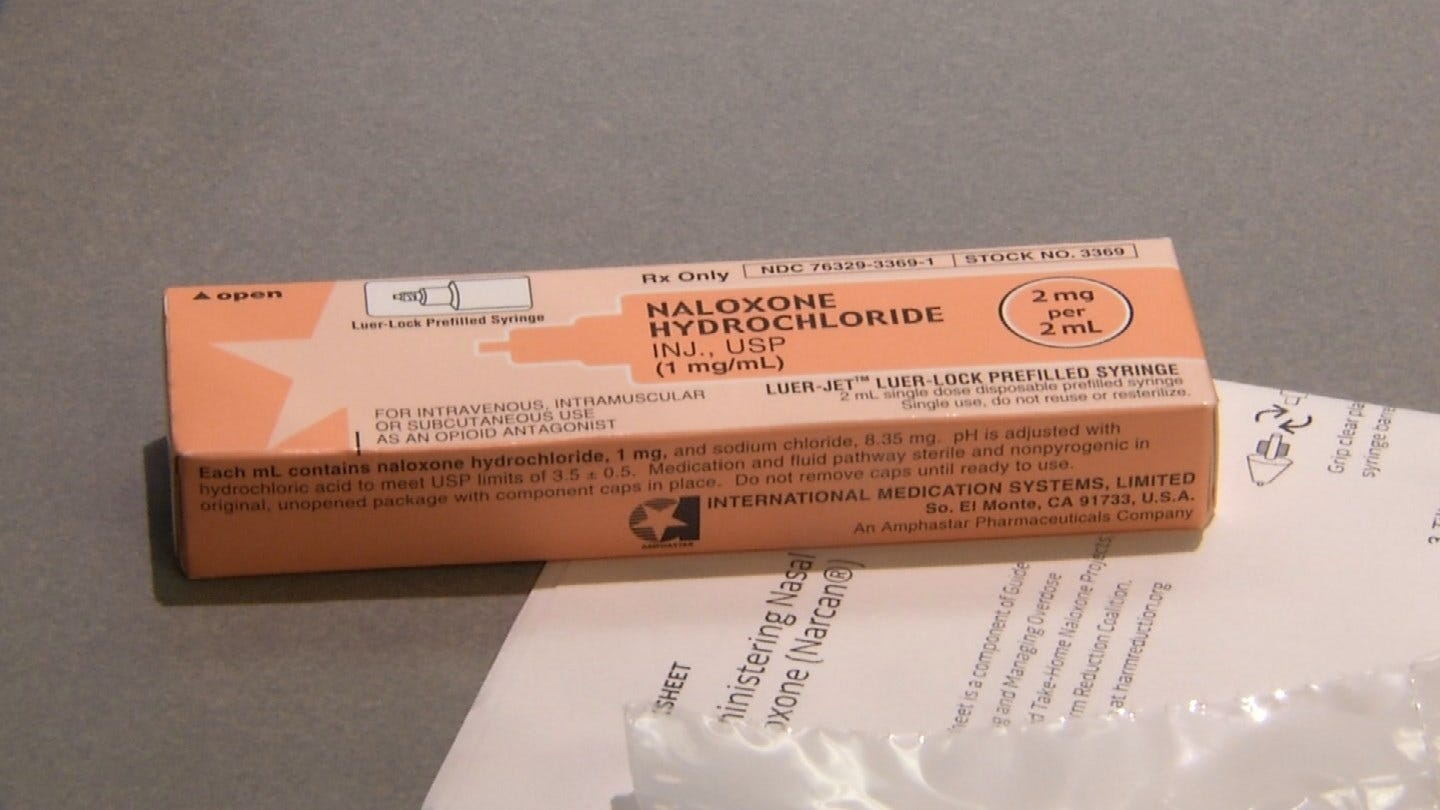 Over-The-Counter Kit Could Be Life Saving For Opioid Users, Tulsa Police Say