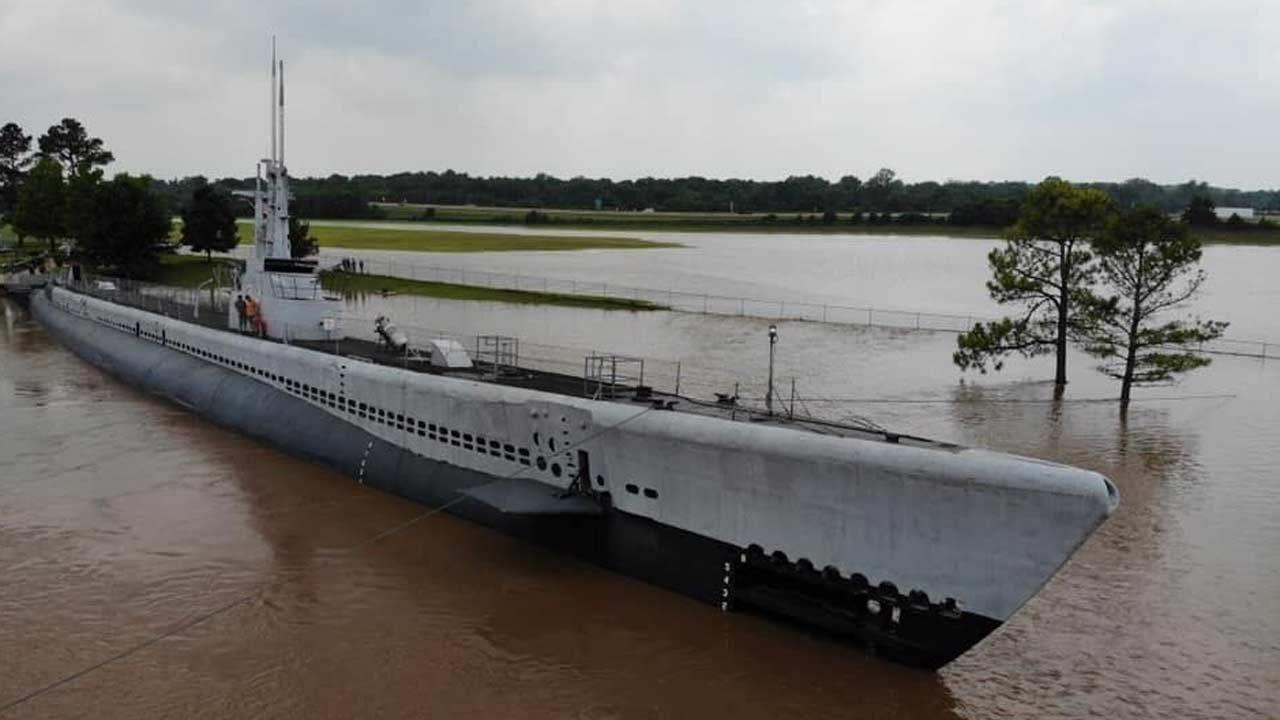 Clean-Up Underway At USS Batfish Museum