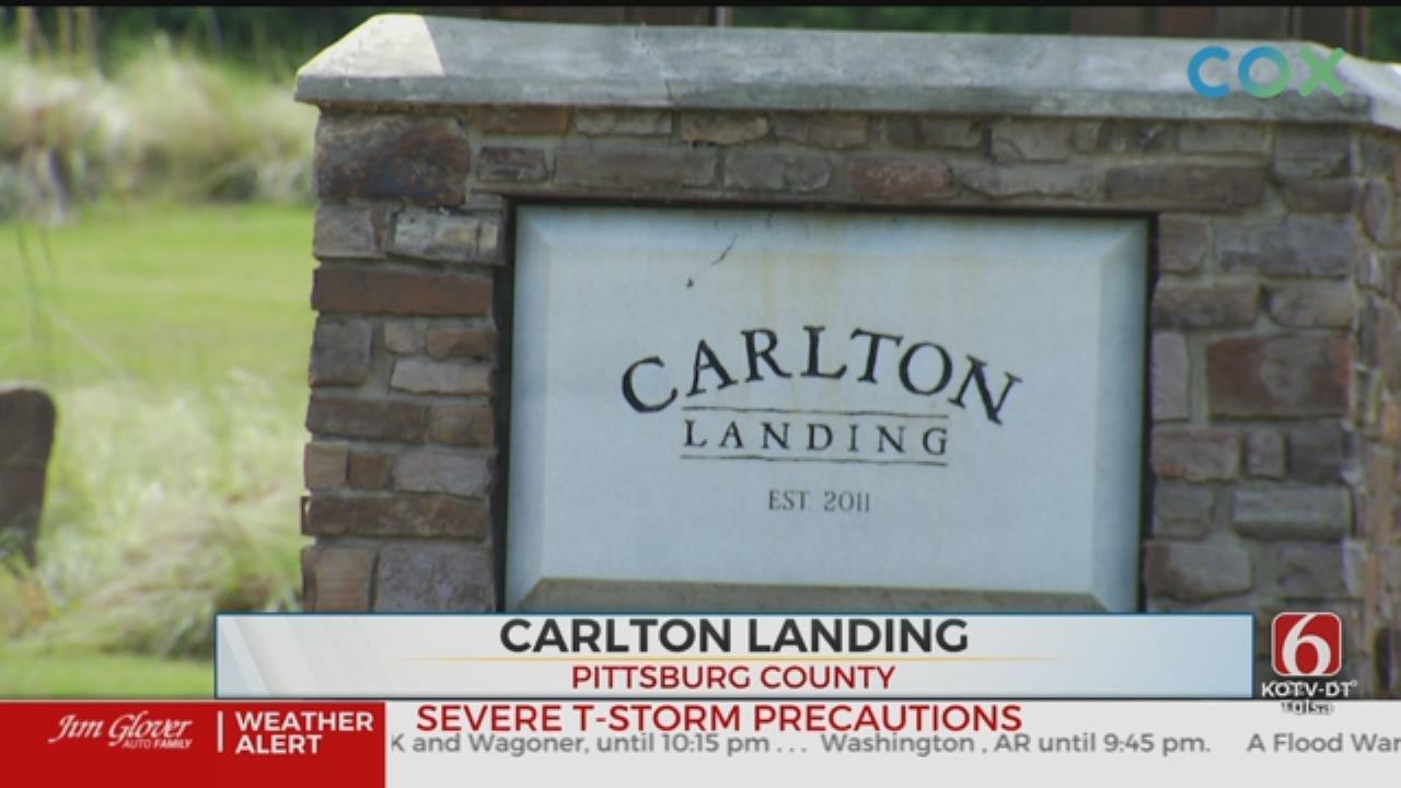 DEQ Investigates Lake Eufaula Resort Town Carlton Landing