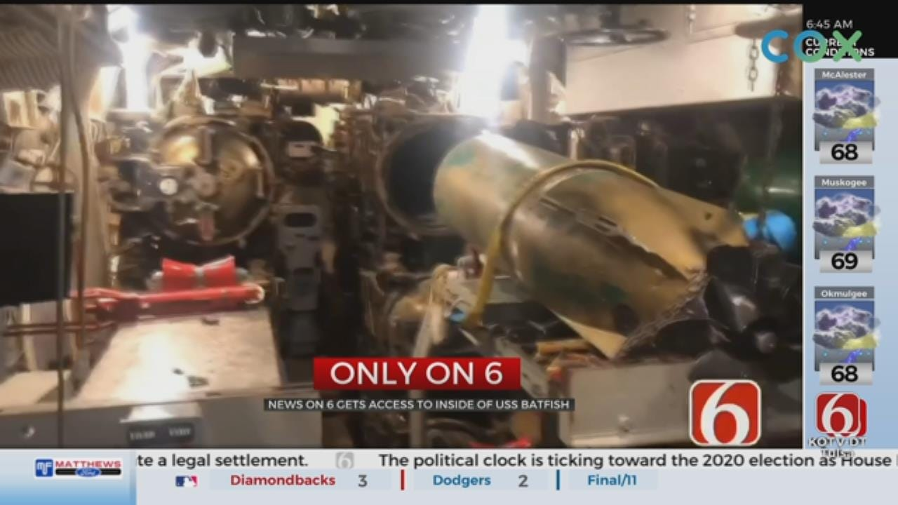 Exclusive Look Inside USS Batfish After Historic Flooding