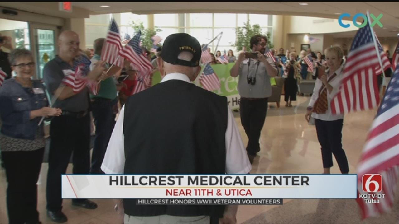 Tulsa World War II Veterans Honored On 75th Anniversary Of D-Day