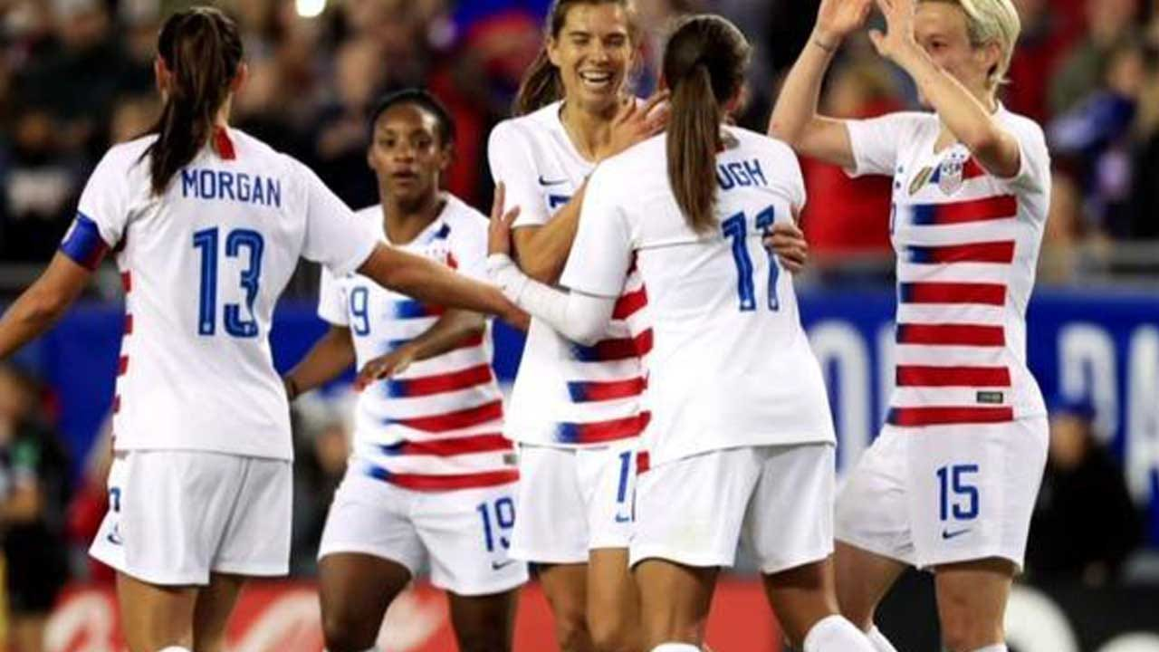 Women's National Soccer Team Players Sue U.S. Soccer For Equal Pay