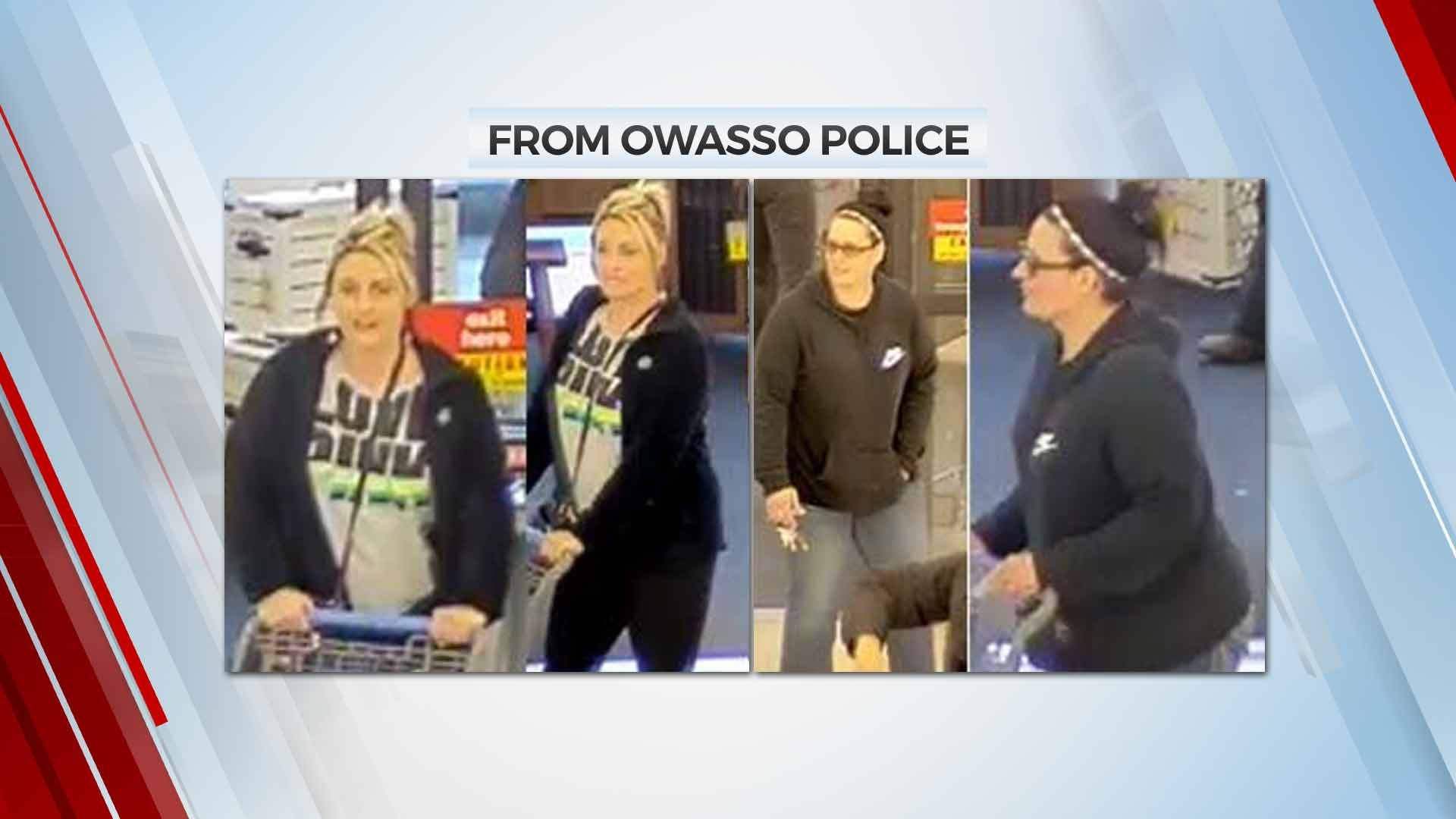 Owasso Police Look For Fraud Suspects