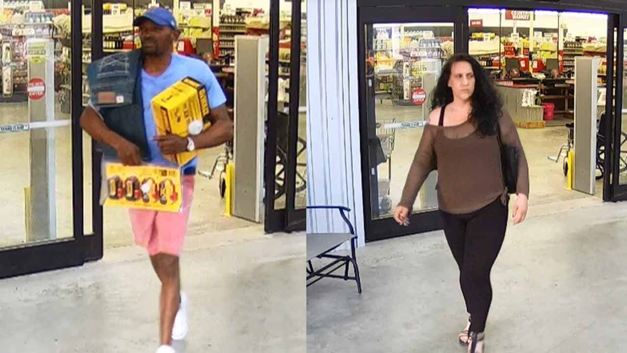 Sand Springs Police Searching For Theft Suspects