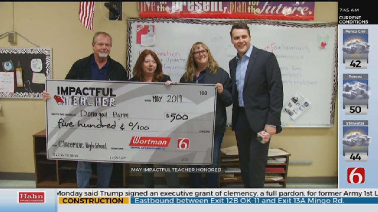 Claremore Educator Honored As 'Impactful Teacher'