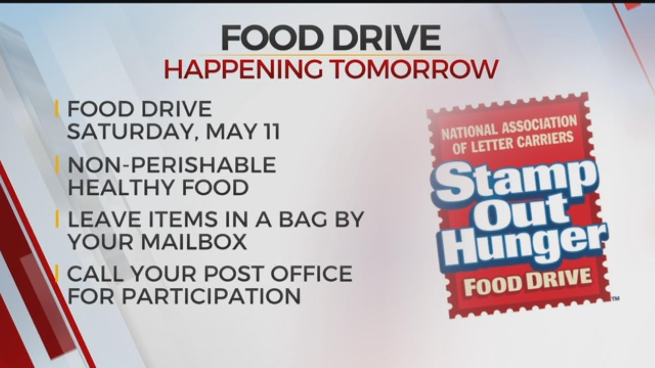 Stamp Out Hunger Food Drive Helps Those In Need