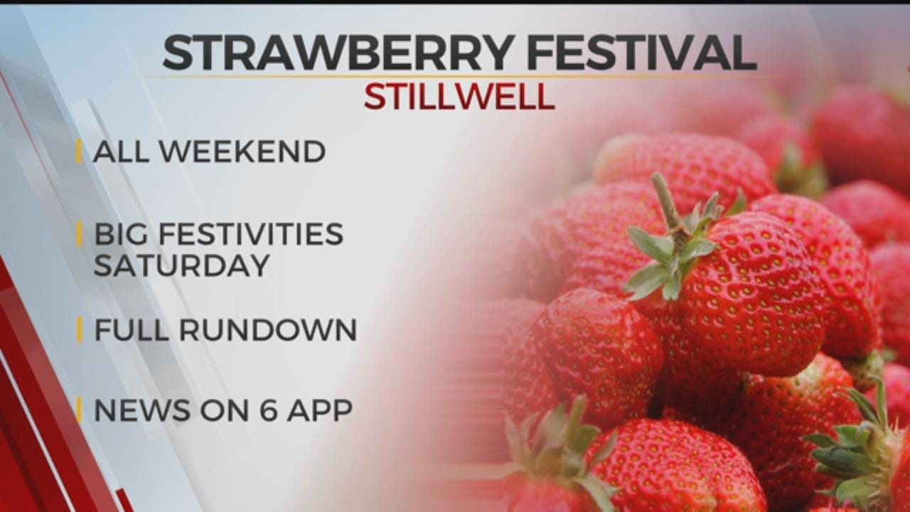 Stilwell Kicks Off Its Annual Strawberry Festival