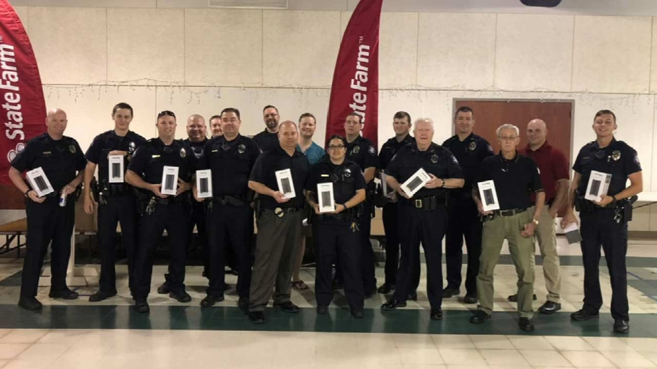 Bixby First Responders Receive Free Security Cameras