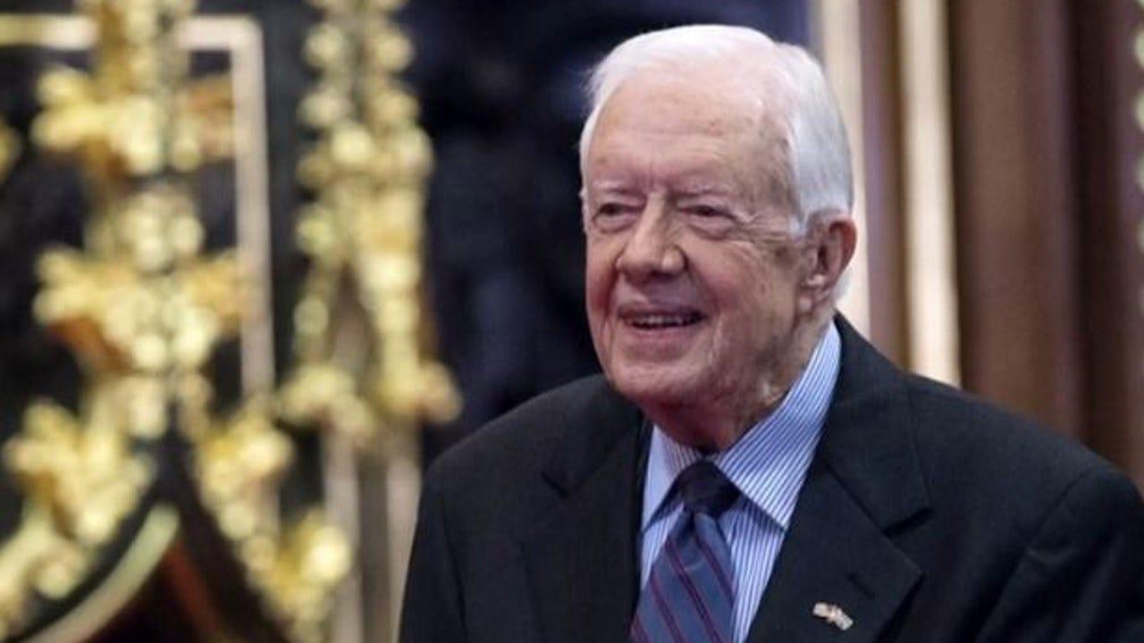 Former President Jimmy Carter Hospitalized, Spokeswoman Says