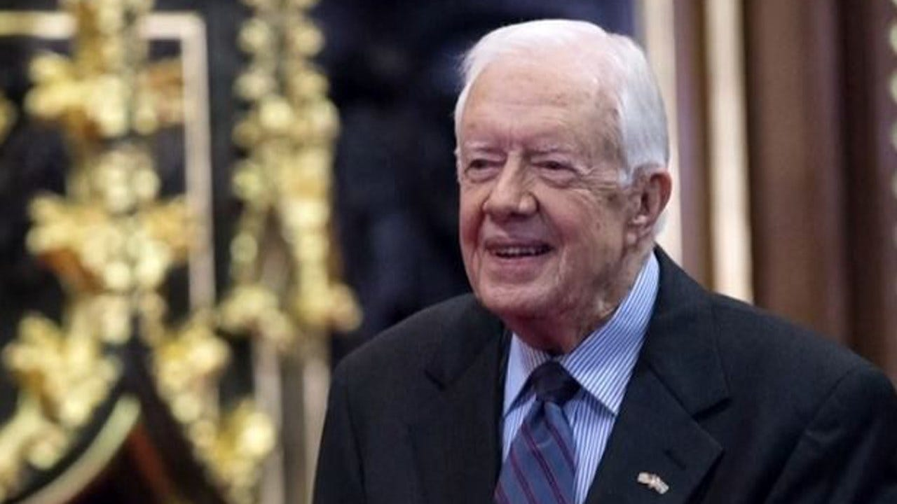 Jimmy Carter Released From Hospital In Time For Thanksgiving