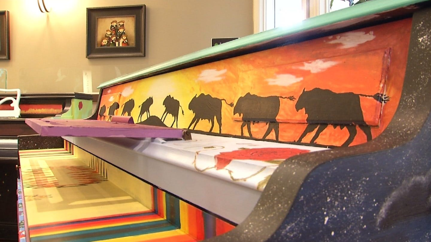 Mayfest Will Feature Beautiful Pianos Painted By Tulsa Students