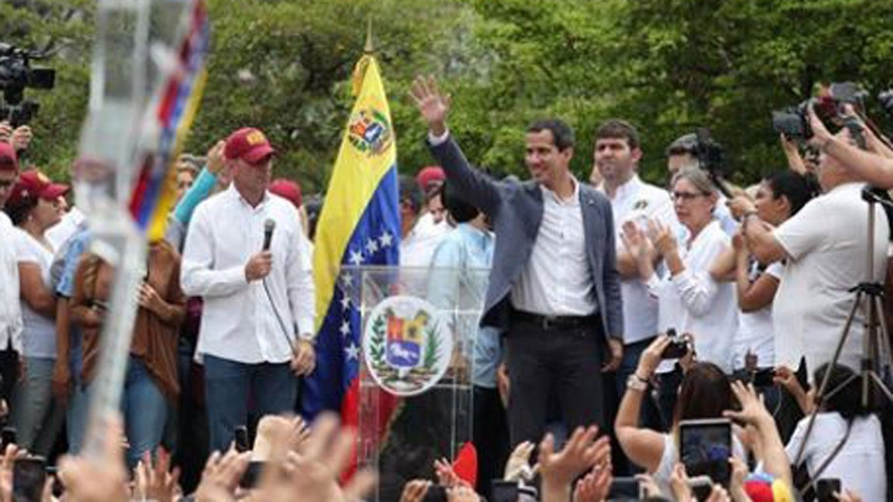 Venezuelan Opposition Asks For Meeting With U.S. Military To Discuss 'Cooperation'