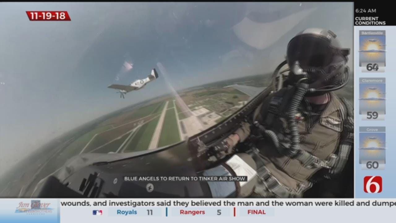 The Blue Angels Return To Oklahoma